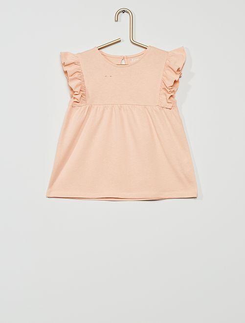 T-shirt 'éco-conception'                                                                                                                                         rose
