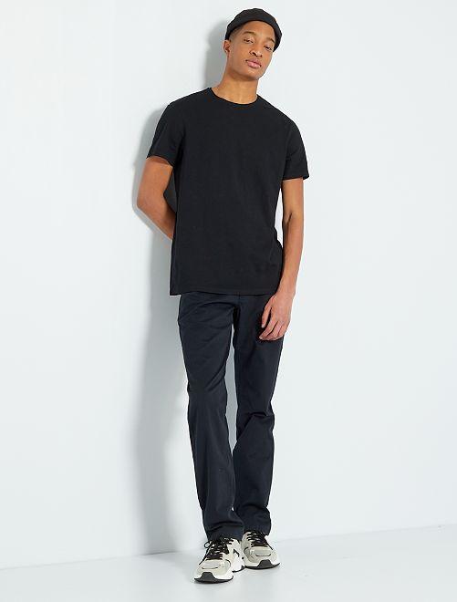T-shirt éco-conçu +1m90                                                                             noir