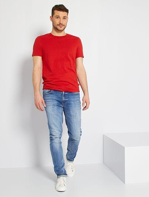 T-shirt éco-conçu +1m90                                                                 rouge