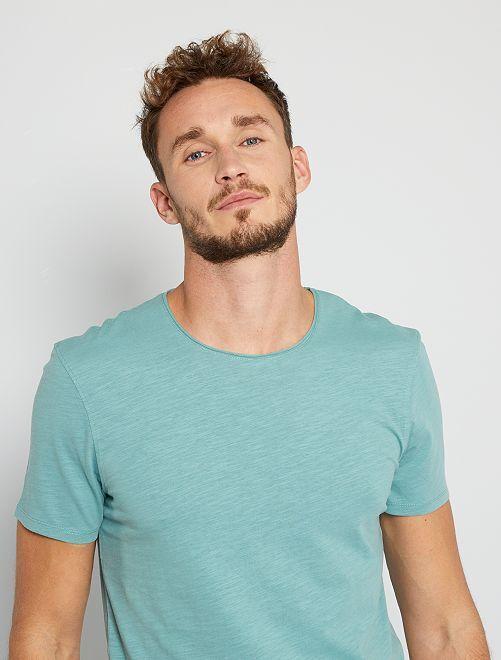 T-shirt éco-conçu +1m90                                                         vert pâle