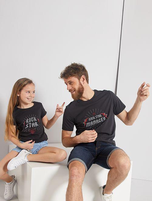 T-shirt éco-conçu                                                                 anthracite