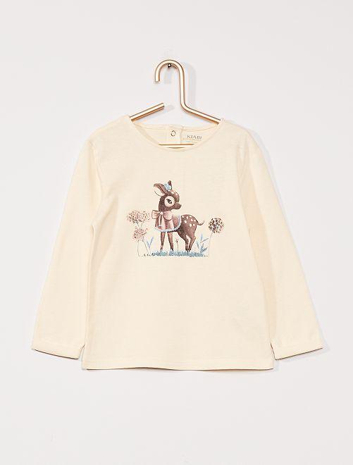 T-shirt éco-conçu                             beige