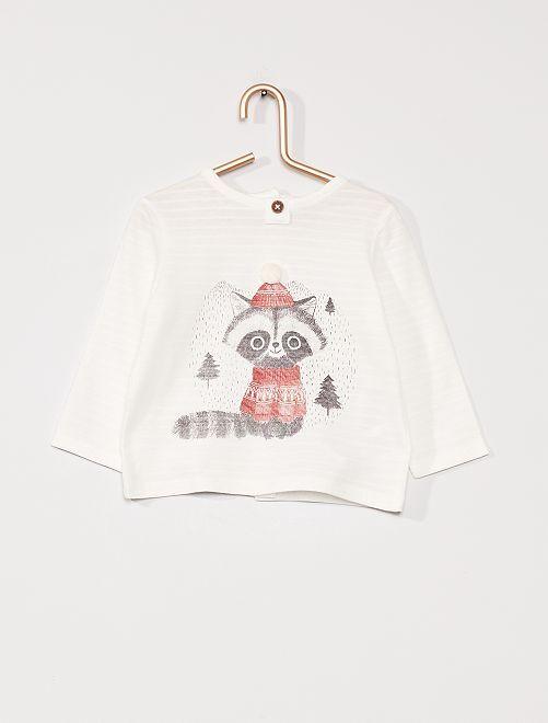 T-shirt éco-conçu                                         blanc