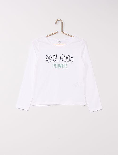 T-shirt éco-conçu                                                                                                                                         blanc good