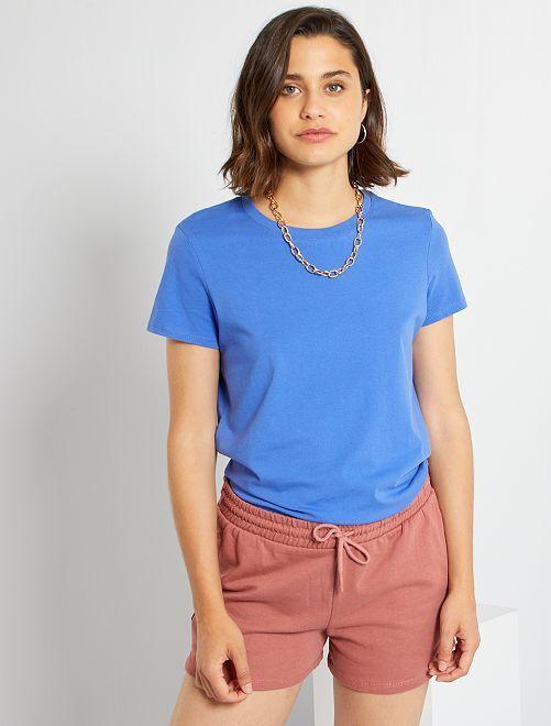 T-shirt éco-conçu                                                                                                                                                                                         bleu