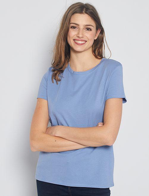 T-shirt éco-conçu                                                                                                                                                                             bleu gris