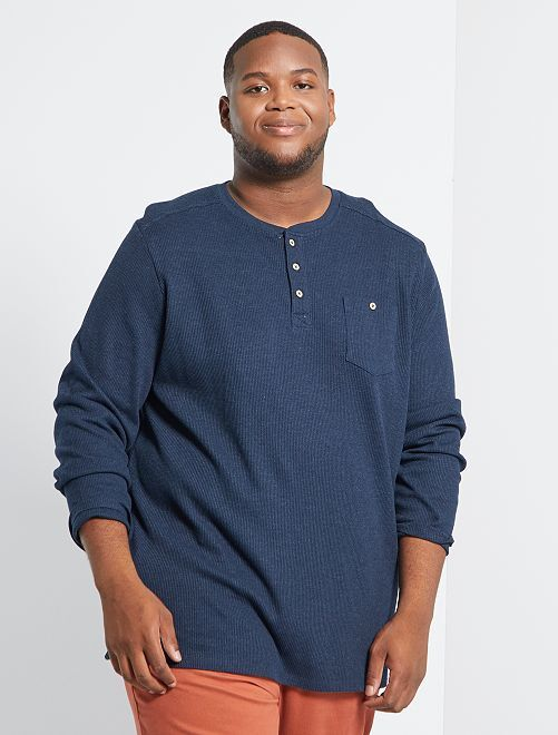 T-shirt éco-conçu                                         bleu marine