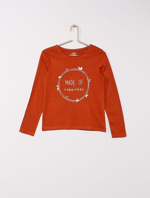 T-shirt éco-conçu                                                                                                                                         camel