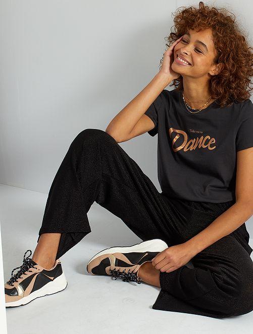 T-shirt éco-conçu                                                                                                                                                                                                                                                                                                                                                                                                                 gris doré