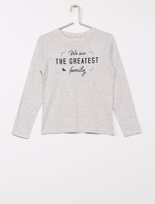 T-shirt éco-conçu                                                                                                                 gris