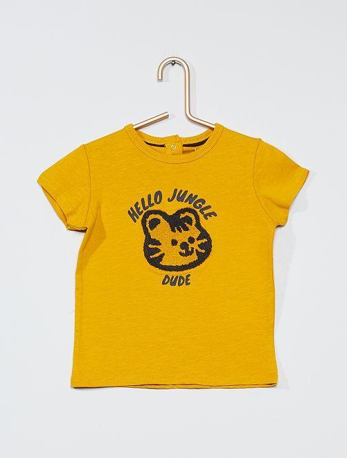 T-shirt 'éco-conçu'                                                     jaune