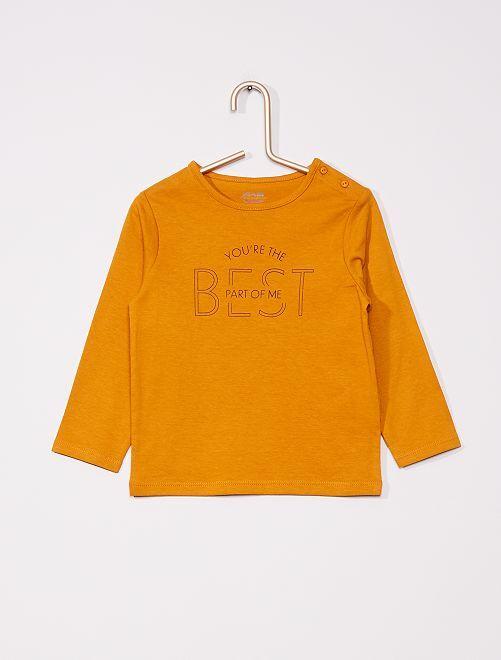 T-shirt éco-conçu                                         JAUNE