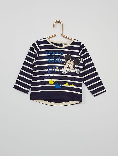 T-shirt éco-conçu 'Mickey'                                         bleu