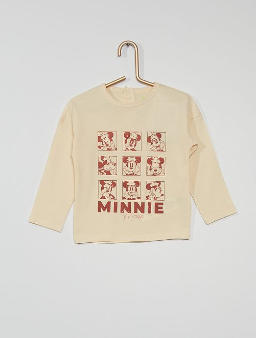 T-shirt éco-conçu 'Minnie'                                                     blanc