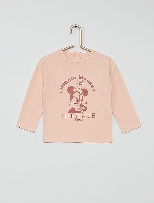 T-shirt éco-conçu 'Minnie'                                                     rose