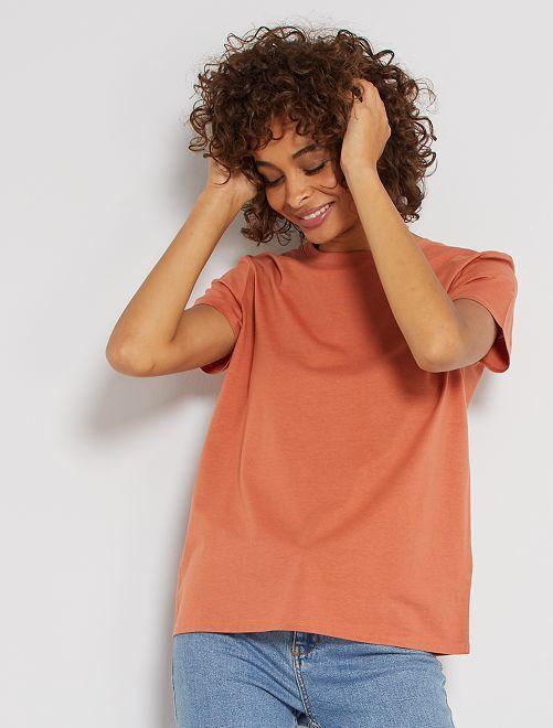 T-shirt éco-conçu                                                                                                                                                                 orange