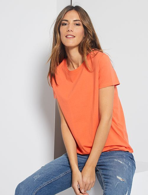 T-shirt éco-conçu                                                                                         orange