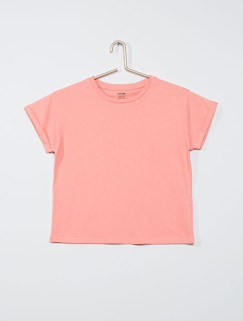 T-shirt éco-conçu                                                                                         rose