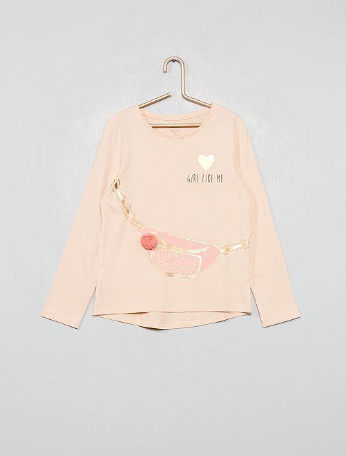 T-shirt éco-conçu                                                                 rose sac
