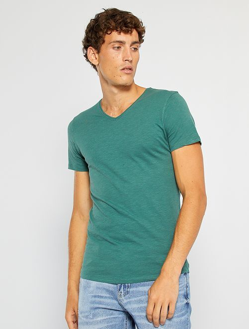 T-shirt éco-conçu                                                                                                                 vert