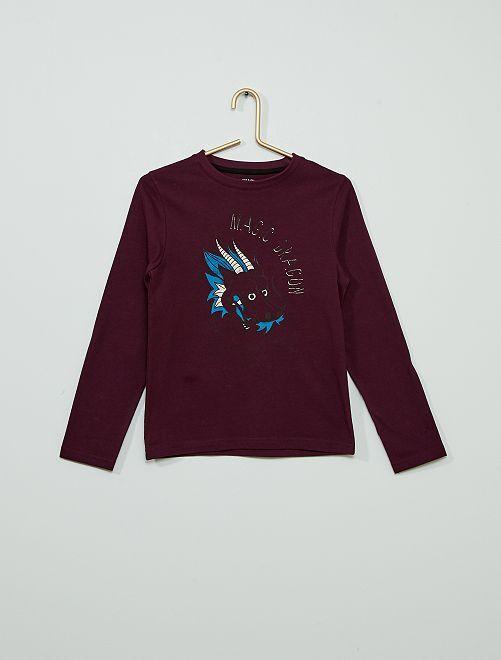 T-shirt éco-conçu                                                                                                                 violet