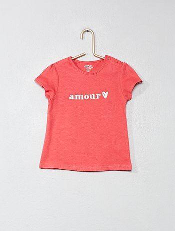 f36f5d7d85b T-shirts bébé - t-shirts garçon ou fille pas cher Vêtements bébé