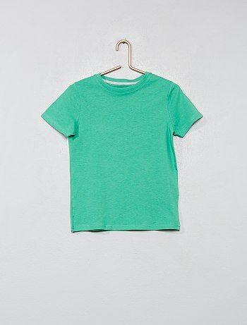 9a3d353b0d67a T-shirt en coton biologique - Kiabi