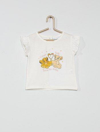 T-shirt en coton 'Le Roi Lion'
