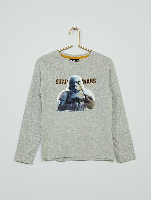 T-shirt en jersey 'Star-Wars'                                                     gris