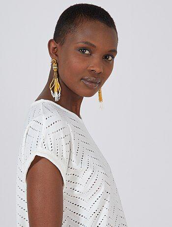 2acabec9278a2 Soldes t-shirt femme manches courtes pas cher Vêtements femme | Kiabi