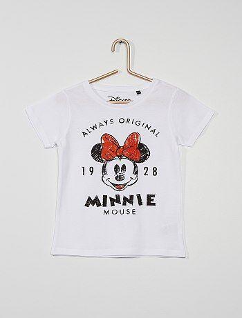 T-shirt en pur coton 'Minnie' 'Disney'