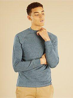 Homme du S au XXL T-shirt épais en molleton léger