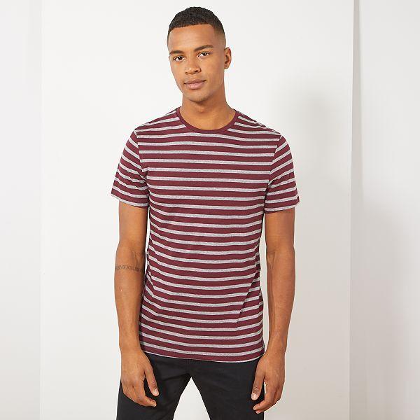 new authentic performance sportswear online retailer T-shirt esprit marinière