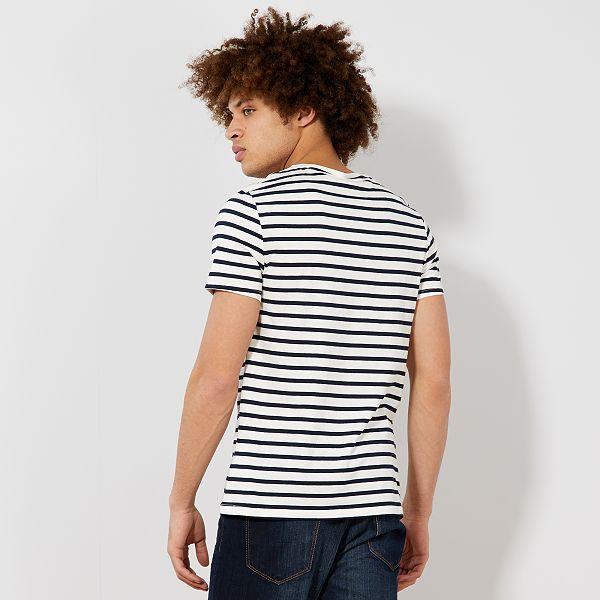 mieux aimé c5193 ed07d T-shirt esprit marinière