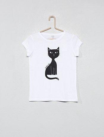 T-shirt fantaisie coton bio