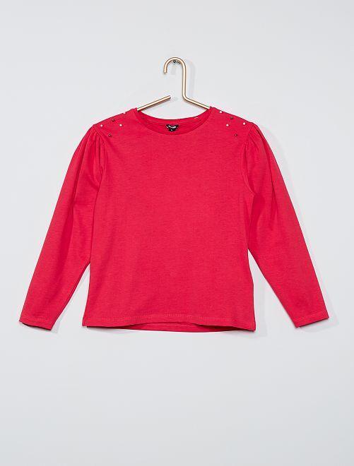 T-shirt fantaisie                                         rose