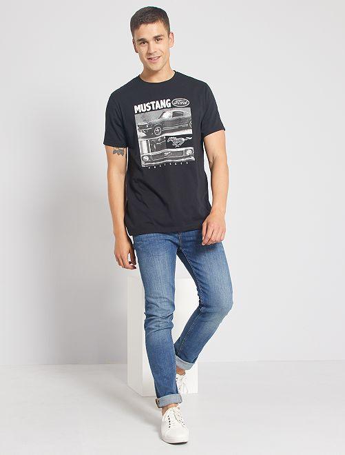 T-shirt 'Ford Mustang'                             noir