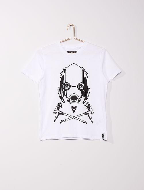 T-shirt 'Fortnite'                             blanc