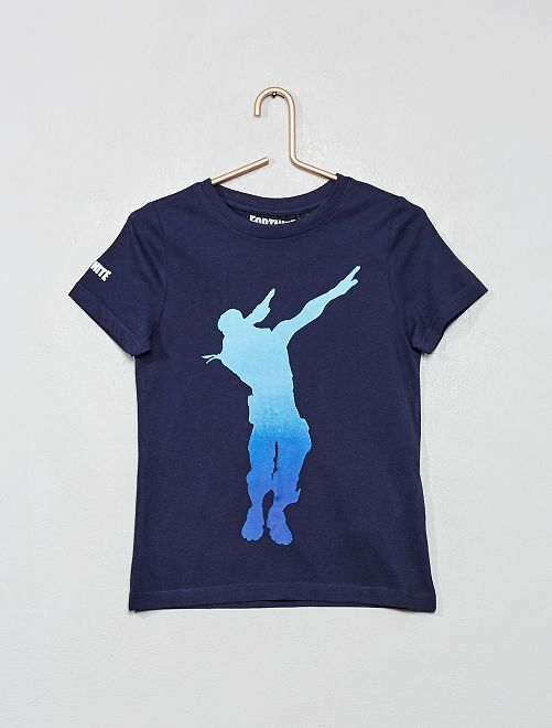 T-shirt 'Fortnite'                             bleu