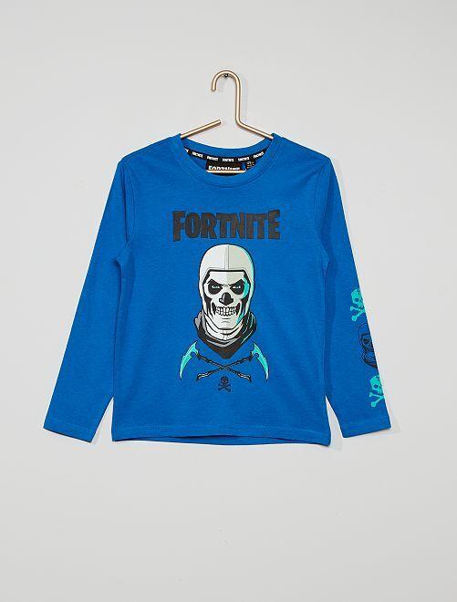 T-shirt 'Fortnite'                             bleu