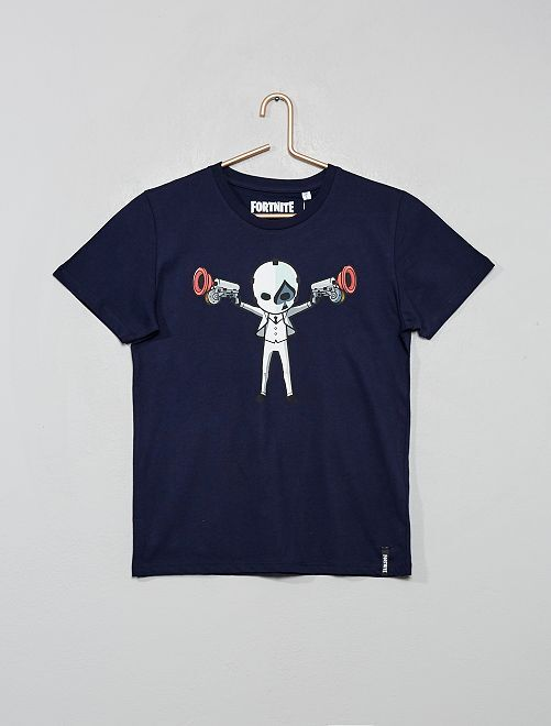 T-shirt 'Fortnite'                             bleu marine