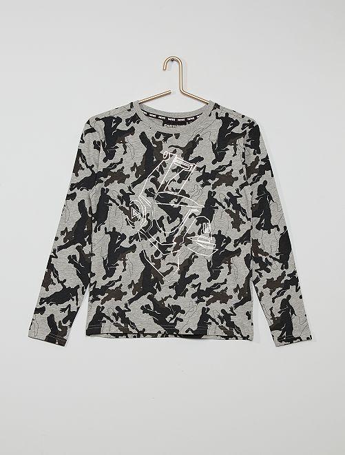 T-shirt 'Fortnite'                             gris