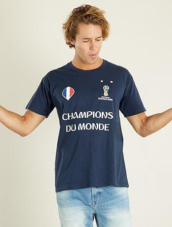 T-shirt France 'Champions du Monde' 2018 - Kiabi