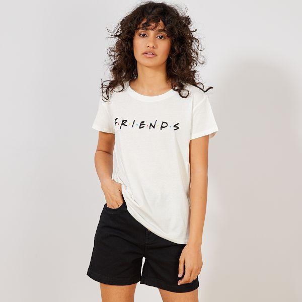 t shirt femme friends