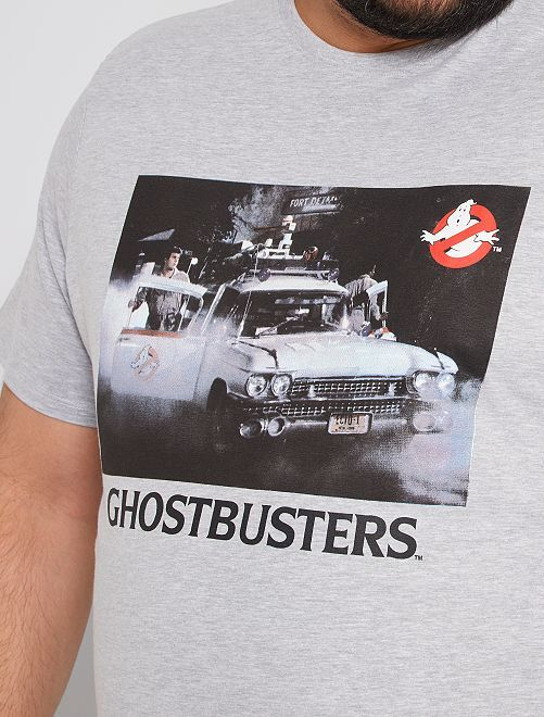 T-shirt 'Ghostbusters'                             gris clair chiné
