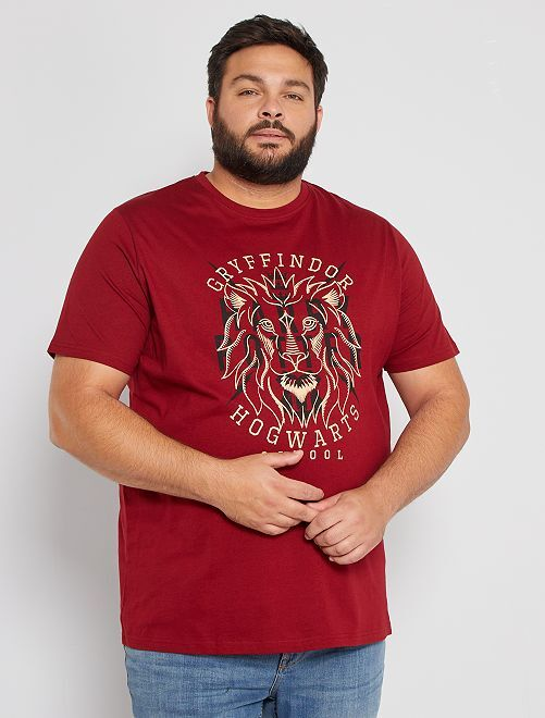 T-shirt 'Harry Potter'                             bordeaux