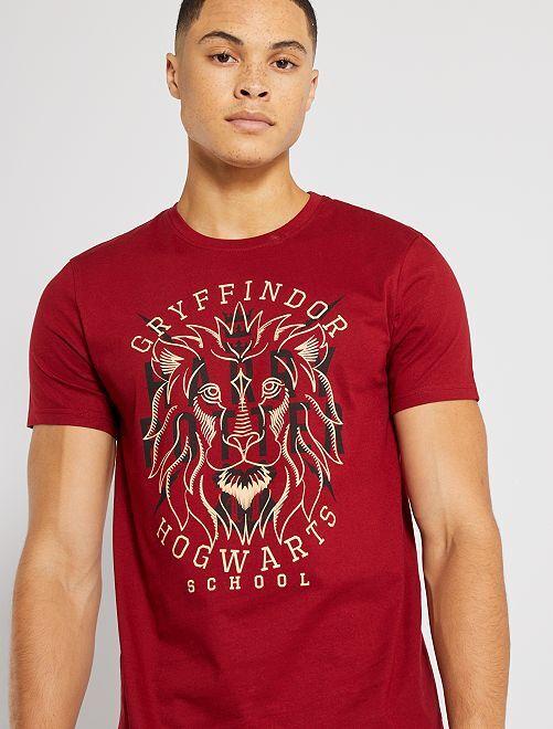 T-shirt 'Harry Potter'                             bordeaux