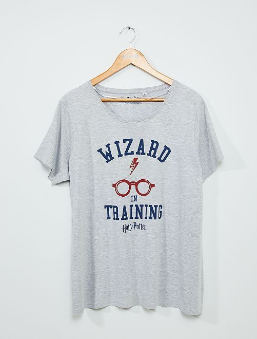T-shirt 'Harry Potter'                             gris chiné