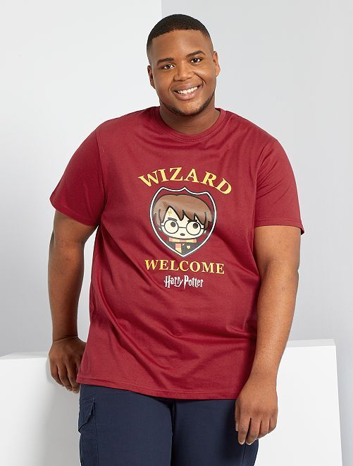 T-shirt 'Harry Potter'                             rouge