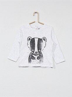 Garçon 0-36 mois - T-shirt imprimé animal - Kiabi